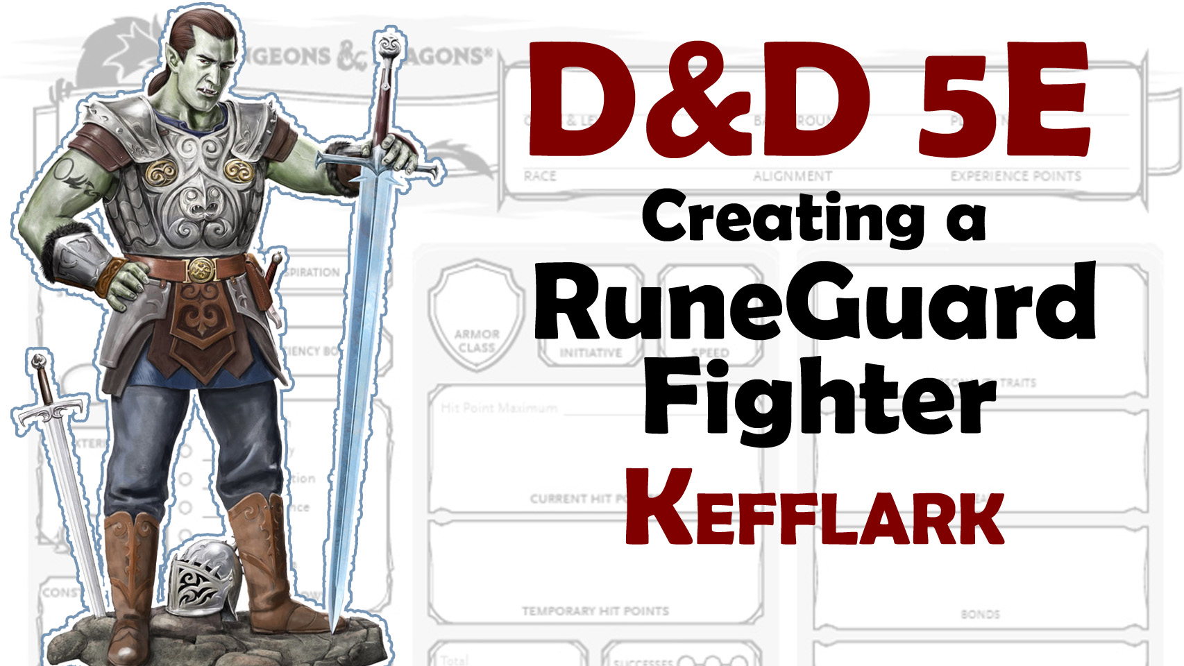 Runeguard Fighter - D&D 5E