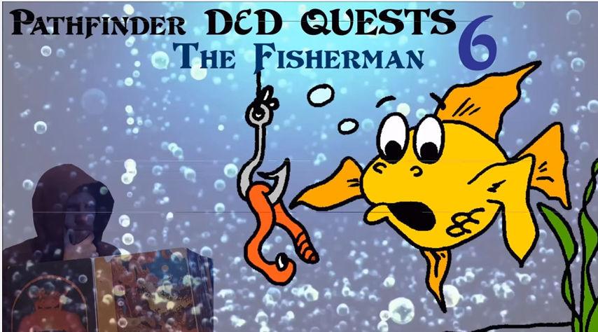 D&D Plot Hooks / D&D Quest Ideas - The Fisherman
