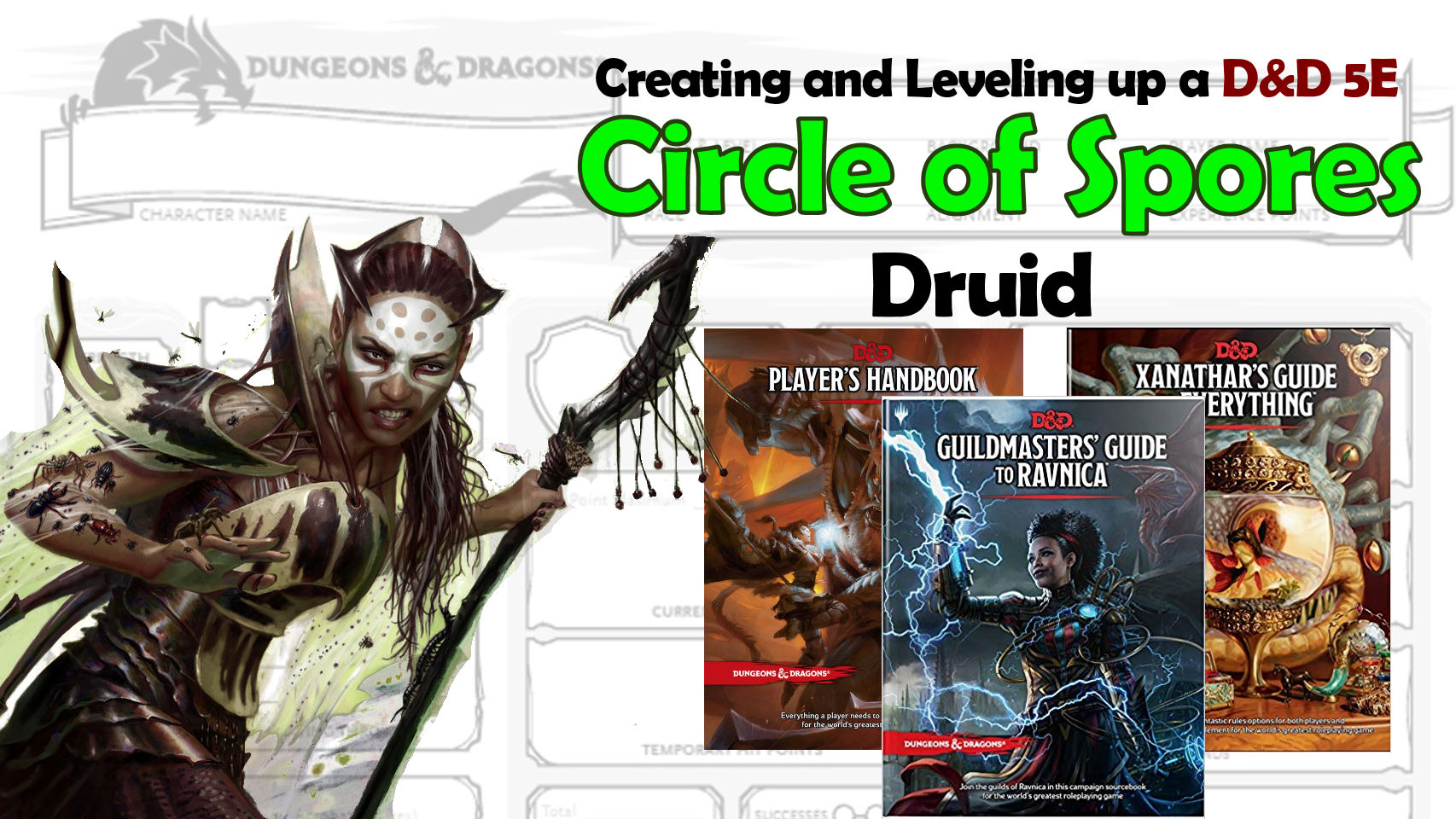 D&D 5E Circle of Spores Druid – Guildmasters' Guide to Ravnica