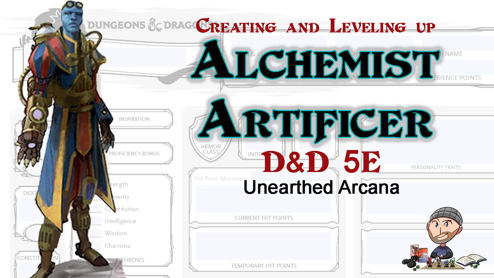 D&D 5E Alchemist Artificer Build – 2019 Unearthed Arcana