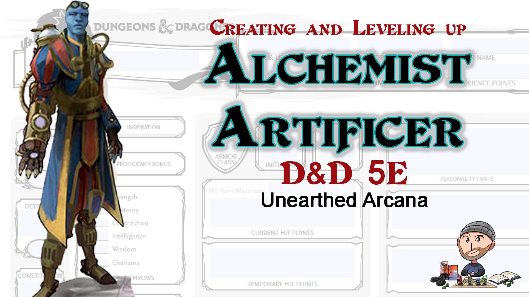 Alchemist Artificer D&D 5E