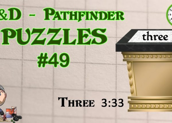 D&D Puzzle Three 3:33