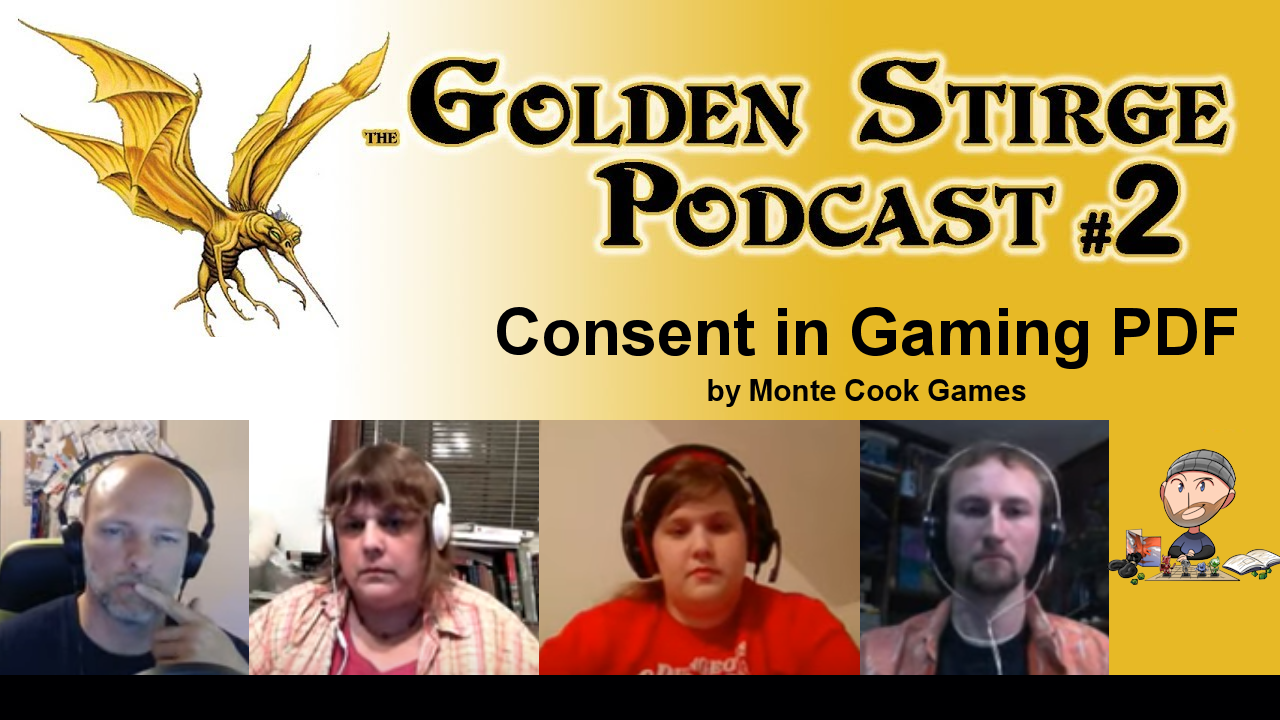 Golden Stirge D&D Podcast Episode 2