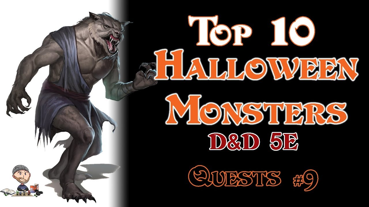 Top 10 Halloween Monsters for D&D