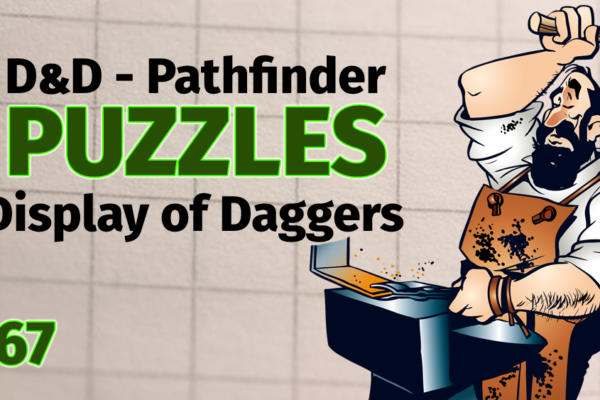 Display of Daggers Puzzle - Tasha's Cauldron of Everything
