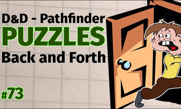 D&D Puzzles - D&D Maze - Back and Forth