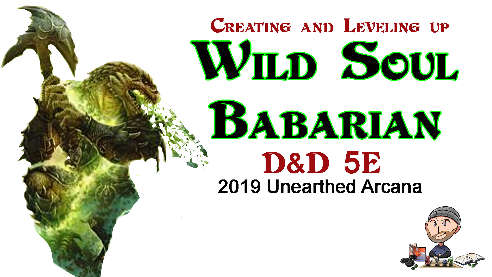 Wild Soul Barbarian Character Build
