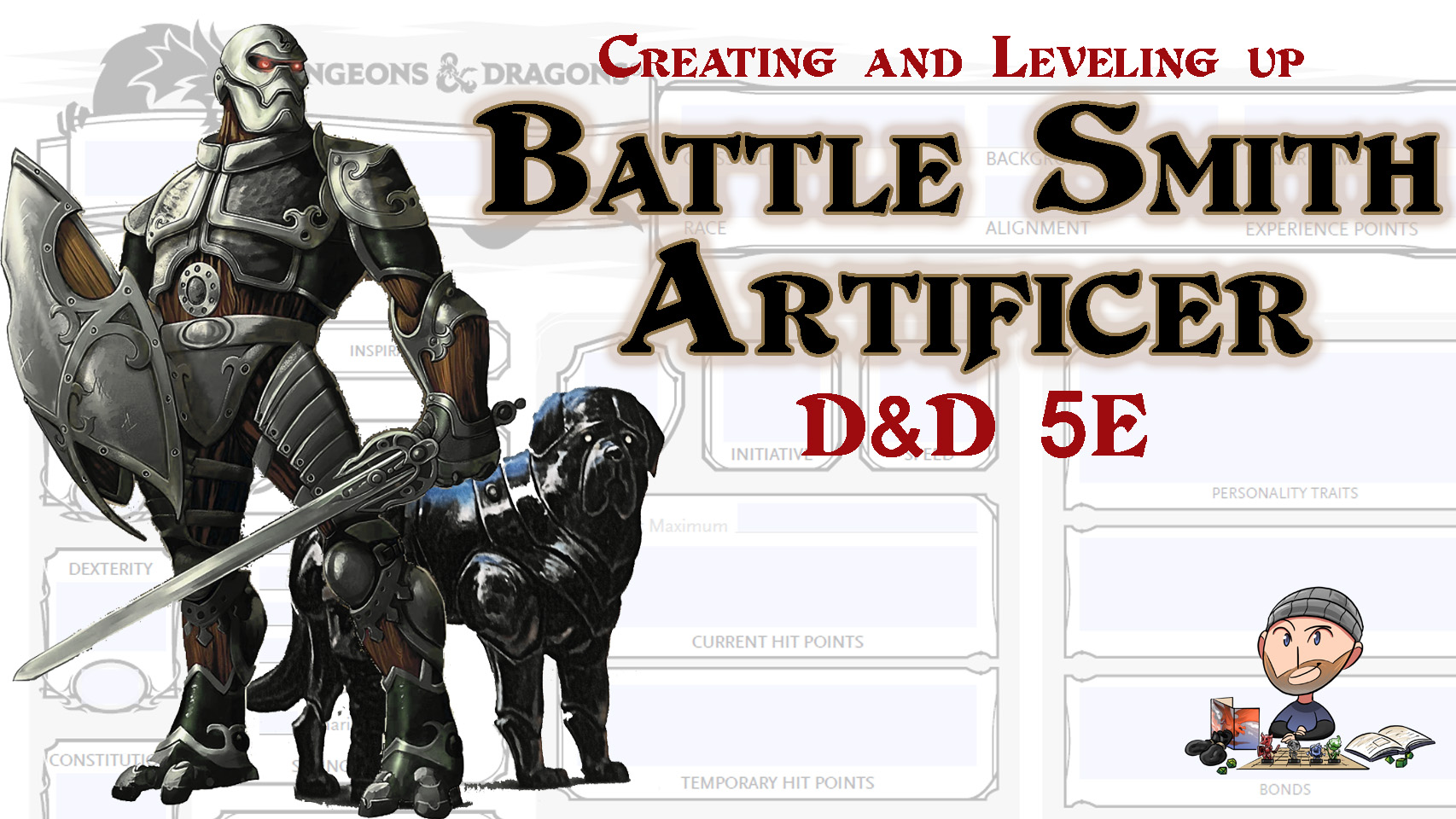 D&D 5E Battle Smith Artificer Build