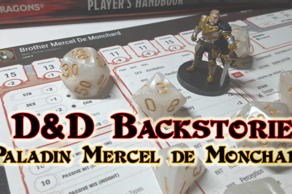 D&D Backstory for Paladin