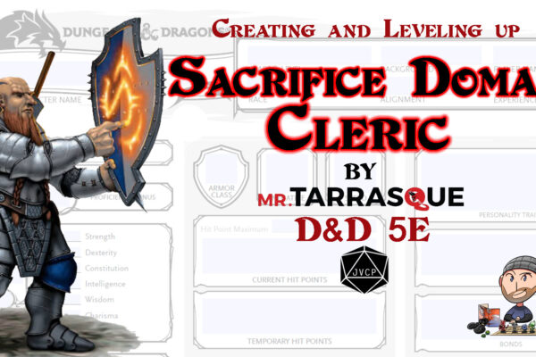 Sacrifice Domain Cleric 5E Build - DMs Guild