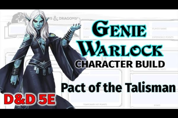 Genie Warlock Character Build
